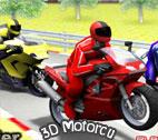 3D Motorcu Oyunu