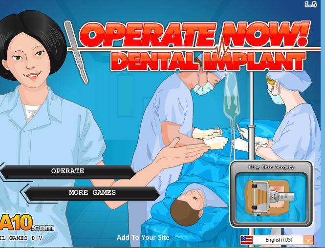 Diş İmplant Ameliyatı Oyunu