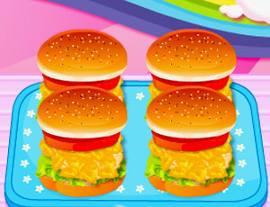 Hamburger Zamanı Oyunu