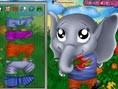 Fil Yavrusunu Giydir Oyunu