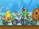 Sünger Bob Bisiklet Yarışı