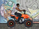 Şehirde ATV Oyna
